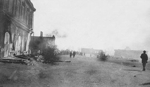 После пожара 1908 года...
