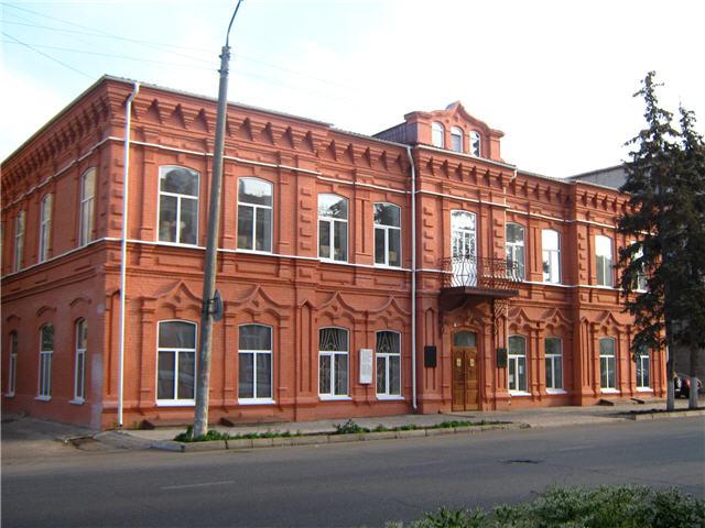 Здание краеведческого музея