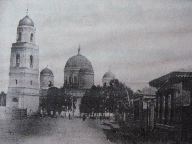 Вид на собор Казанской Божьей матери