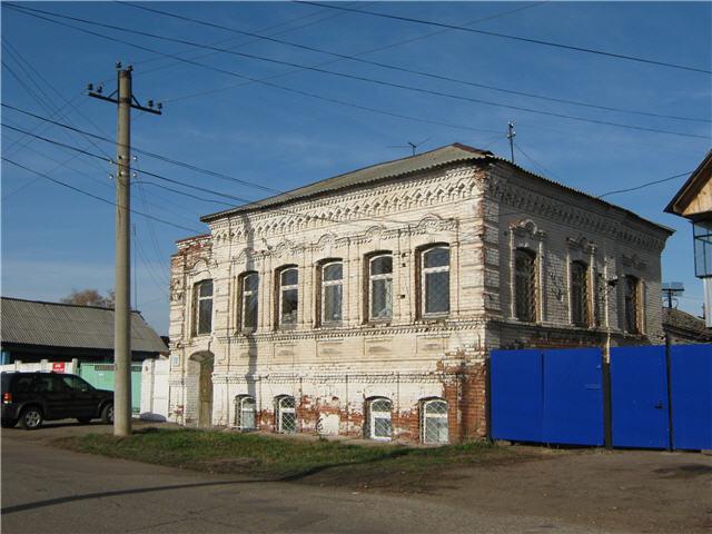 Дом по улице Коммунаров