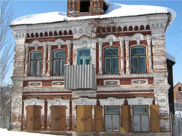 Старый дом по улице Халтурина
